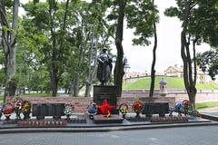 Monument aan omgekomen van Wereldoorlog II in Wit-Rusland Royalty-vrije Stock Foto's