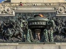 Monument aan Onafhankelijkheid op Onafhankelijkheidspark, in 1922 wordt geopend die royalty-vrije stock afbeeldingen