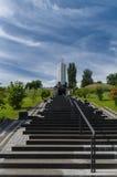 Monument aan slachtoffers van Holodomor in Kiev, de Oekraïne stock afbeeldingen