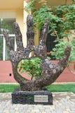 Monument aan Steve Jobs in Odessa. De Oekraïne. Royalty-vrije Stock Afbeeldingen