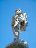 Monument aan Umberto I (1913), Santa Margherita Ligure, Italië Stock Afbeeldingen