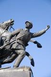 Monument aan V.Chapaev Royalty-vrije Stock Afbeeldingen
