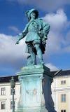 Monument aan Zweedse koning Gustav II Adolf Stock Foto