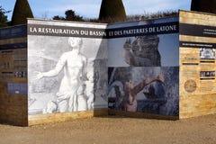 Monument in aanbouw Stock Foto's