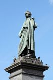 Monument of Adam Mickiewicz - polish national poet ,Krakow Stock Photography