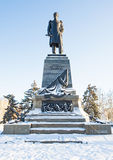 Monument of admiral Nakhimov Royalty Free Stock Image