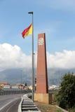 Monument against the mafia, capaci Royalty Free Stock Image
