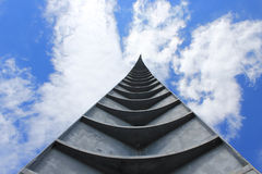 Monument against the sky Royalty Free Stock Photo