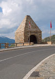 Monument alaong the road - National park Hohe Tauern (Austria) Royalty Free Stock Photography