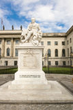 Monument Alexander Humboldt Berlin Stock Photos