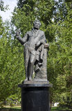 Monument of Alexander Pushkin. In Taganrog, Russian Federation Royalty Free Stock Image