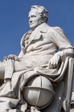 Monument of Alexander von Humboldt Royalty Free Stock Photography