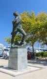 Monument Alexandros Dyakosu - Greek army officer.  Rhodes Island. Greece Stock Image