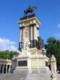 Monument of Alfonso XII. In Madrid, Spain Stock Images