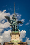 Monument of Angel in Rome Stock Photos