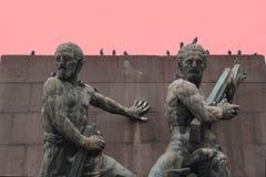 Monument Ankaras, die Türkei 21. Februar 2018 wurde durch C Holzmeis errichtet Lizenzfreie Stockfotografie