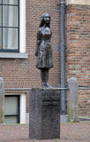 Monument of Anne Frank in Amsterdam Stock Image