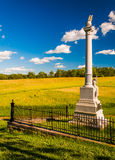 Monument at Antietam National Battlefield, Maryland. Stock Photography