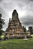 Monument antique d'Ayutthaya Photos stock