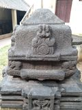 Monument antique de roche images libres de droits