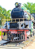 Monument Antique train. In thailand Royalty Free Stock Photo