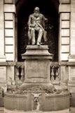 Monument, Antwerp stock image