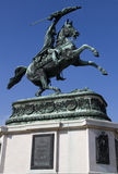 Monument of Archduke Charles Stock Images