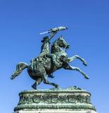 Monument archduke charles Stock Image