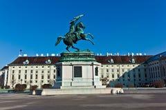 Monument archduke charles of Austria Stock Image