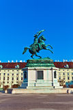 Monument archduke charles of Austria Stock Photos