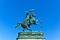Monument archduke charles of Austria Royalty Free Stock Photography