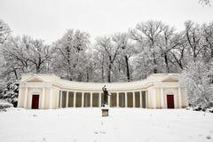 """Monument architectural """"écho de Colonade """" image libre de droits"""