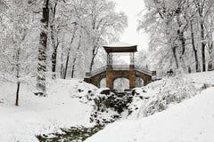 """Monument architectural """"pont chinois """" photographie stock libre de droits"""