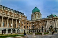 Royal Palace in the center of Budapest, a monument of architecture and religion royalty free stock photos