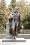 Monument AS Pushkin in the city of Yalta. Royalty Free Stock Image