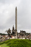 Monument of the Assens - Veliko Tarnovo - Bulgaria Royalty Free Stock Images