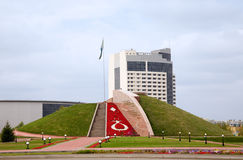 Monument in Astana Stock Photo