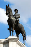 Monument of Ataturk. A monument of a soldier and Ataturk on horseback Stock Image