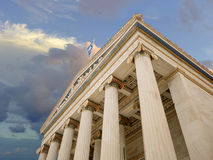 Monument in Athens Greece Stock Photography