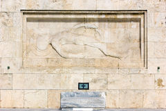 Monument in Athens Royalty Free Stock Images