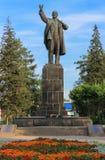 Monument au chef des personnes soviétiques Lénine Image stock
