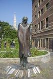 Monument au compositeur Bela Bartok, au compositeur hongrois et au pianiste photographie stock libre de droits