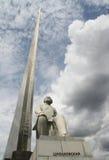 Monument au fondateur de l'astronautique - Tsiolkovsky Images libres de droits