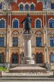 Monument au fondateur de Vyborg images stock