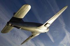 Monument au jet de Gloster E28/39 de Sir Frank Whittle prenant aux cieux Image stock
