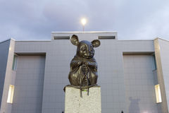 Monument au rat de laboratoire Photos libres de droits
