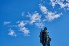 Monument au Roi Gustav III de la Suède à Stockholm images stock