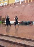 Monument au soldat inconnu à Moscou Images libres de droits