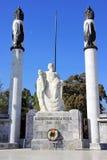 Monument aux cadets héroïques en parc de chapultepec, Mexico photographie stock libre de droits