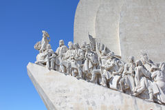 Monument aux découvertes à Lisbonne photographie stock
